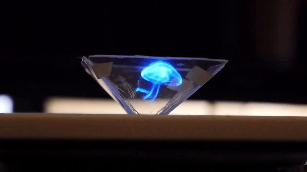 Vyomy 3D Hologram Motion Dance poster