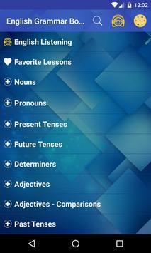 English Grammar Book Free screenshot 1