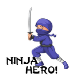 Ninja Hero - 5 Super Games Pack icon