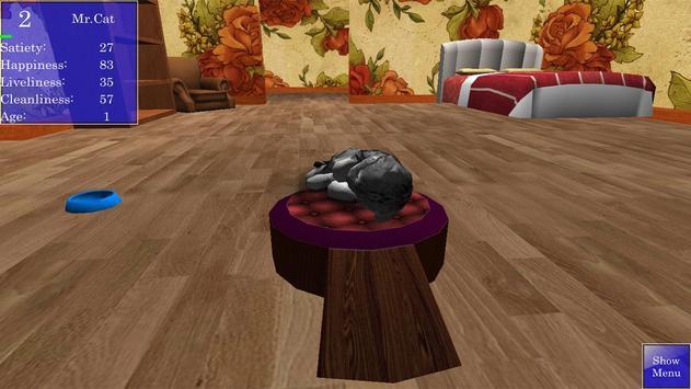 Cute Pocket Cat 3D screenshot 6