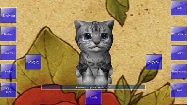 Cute Pocket Cat 3D screenshot 7