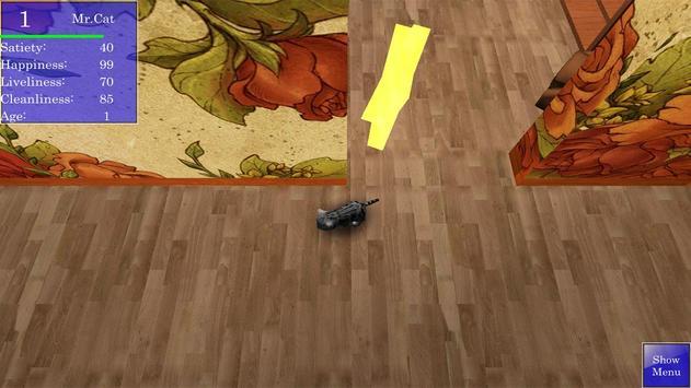 Cute Pocket Cat 3D screenshot 2