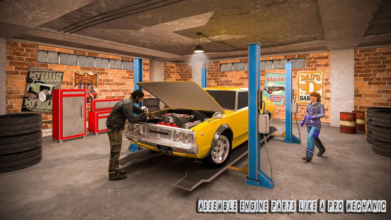 Car Tycoon Car Mechanic Simulator Junkyard Games For Android Apk