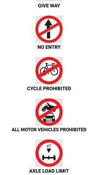 Driving License Rules & Quiz screenshot 1