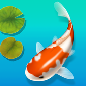 Idle Koi Fish - Zen Pond icon
