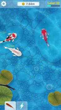 Idle Koi Fish - Zen Pond screenshot 2