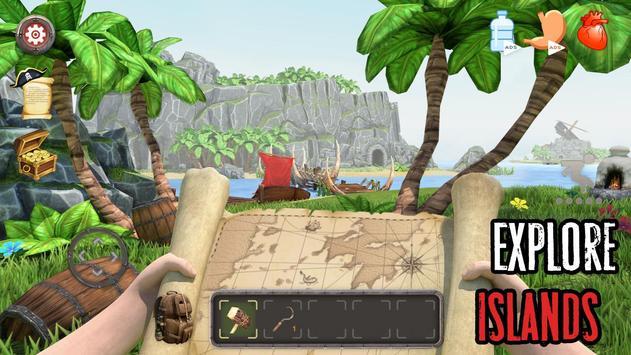 Survival Raft: Lost on Island - Simulator poster