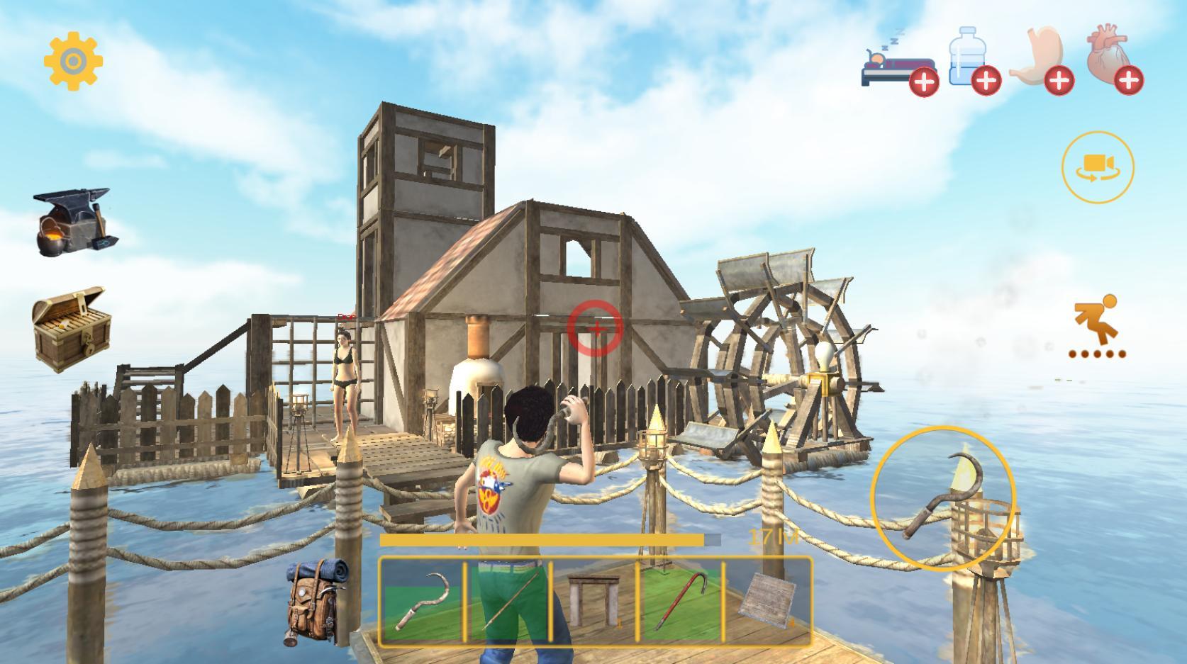 Cari game online Raft Survival: Multiplayer