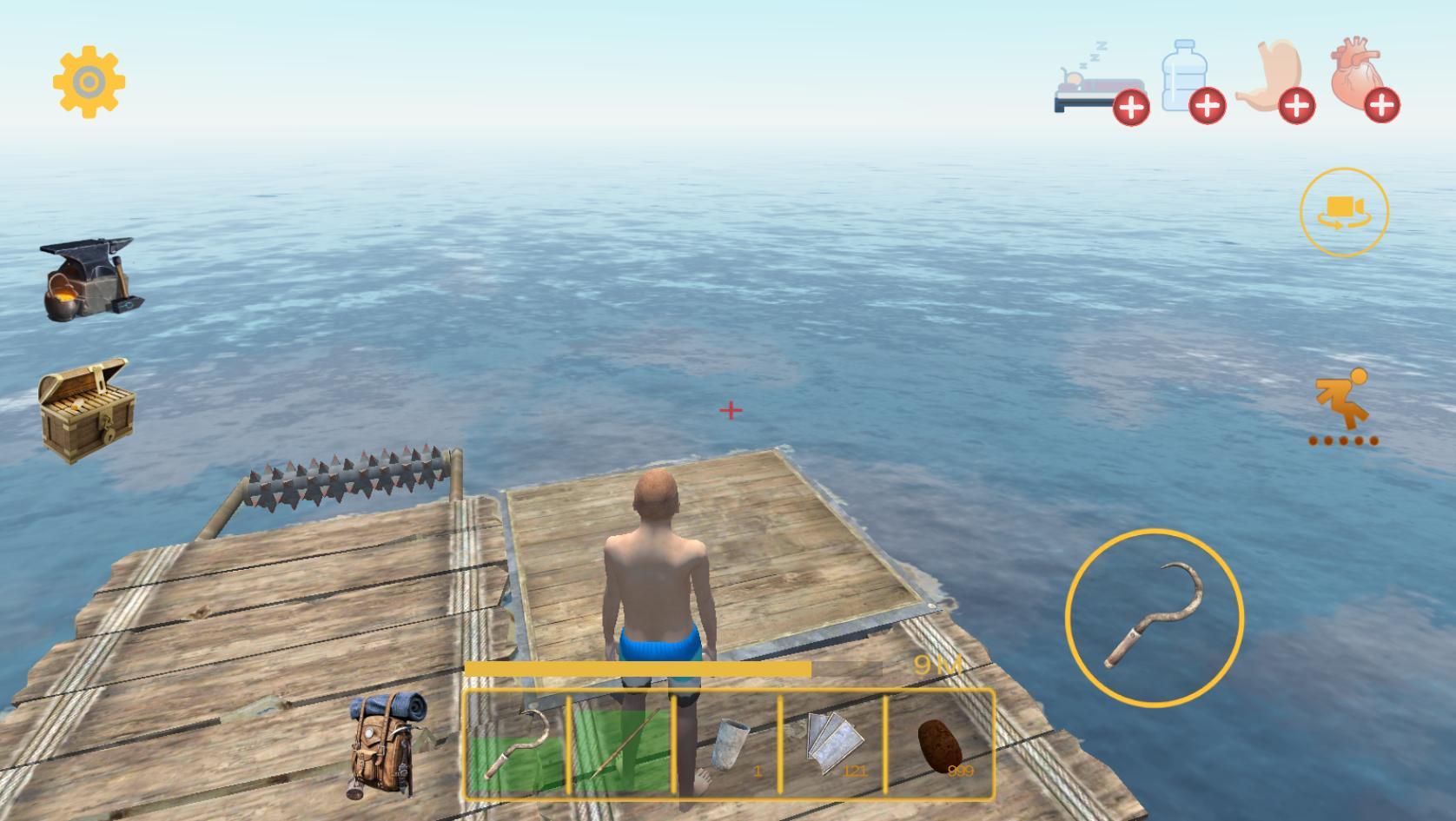 Download permainan terbaru Raft Survival: Multiplayer