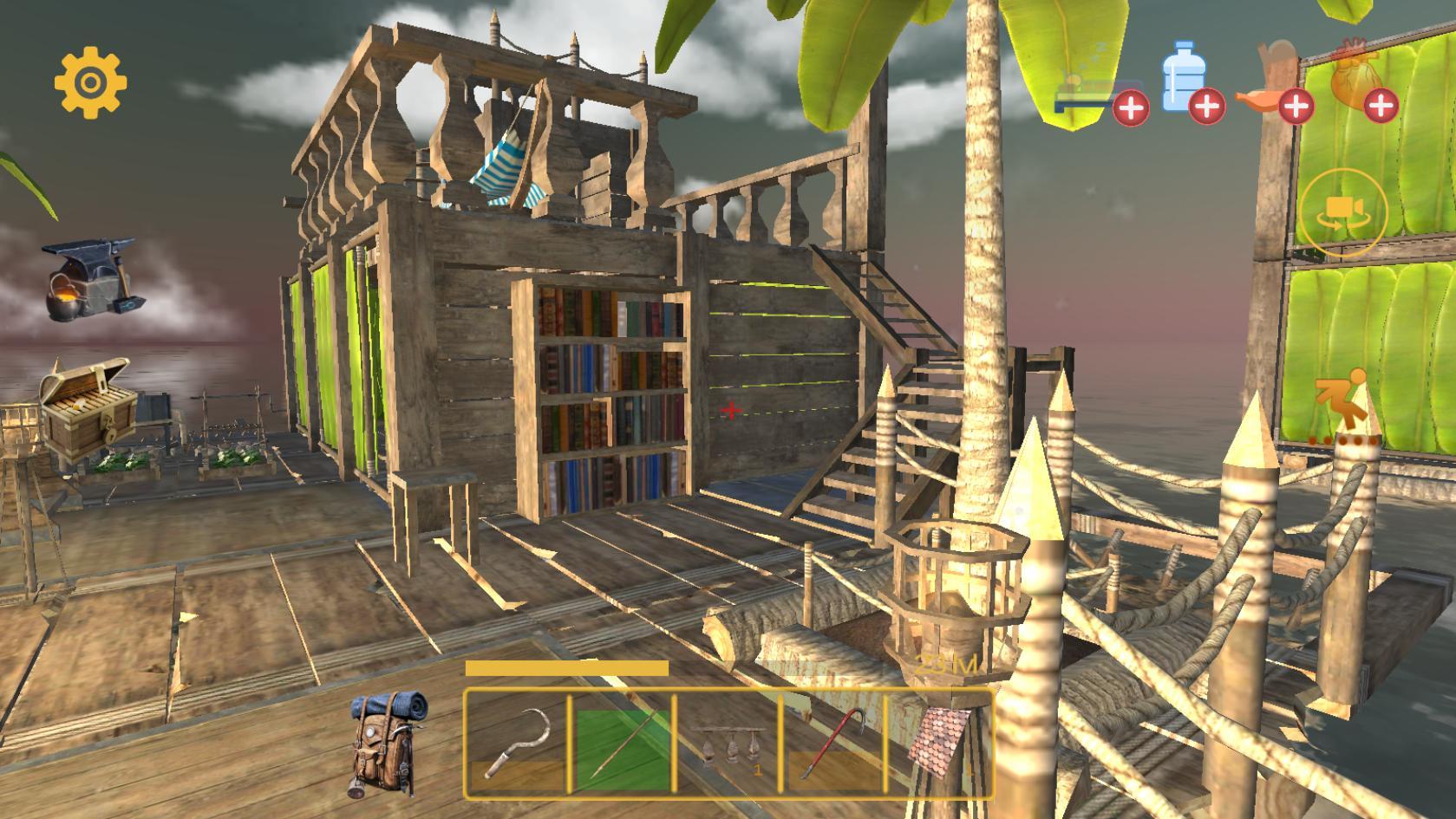 Mendonlot game Raft Survival: Multiplayer