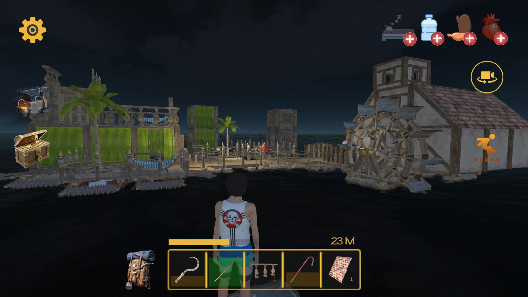 Donlot permainan gem Raft Survival: Multiplayer