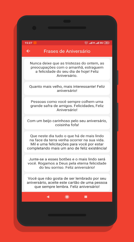 Mensagem De Aniversário Com Imagens De Parabéns для андроид