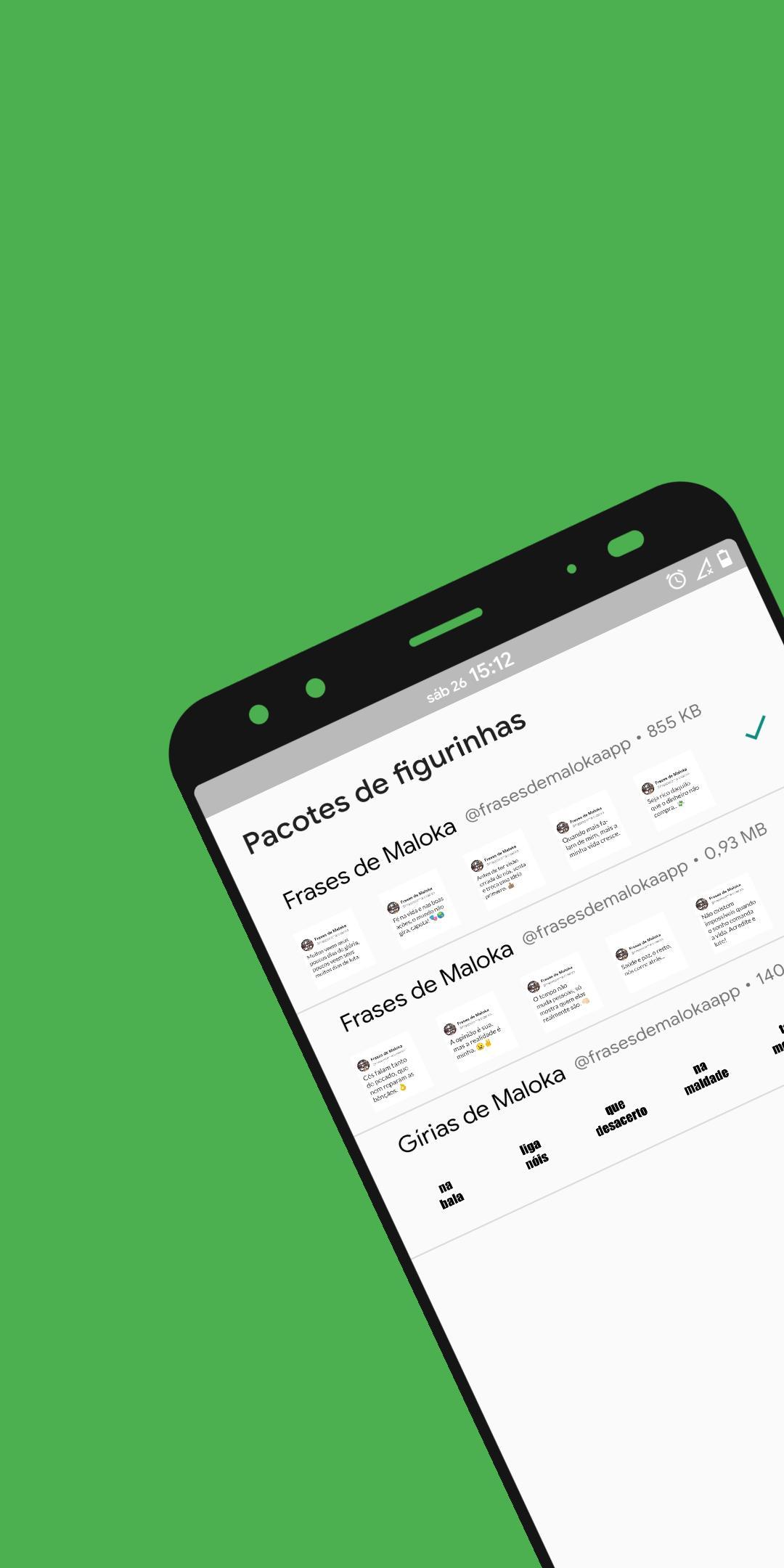 Figurinhas Com Frases De Maloka E Gírias For Android Apk