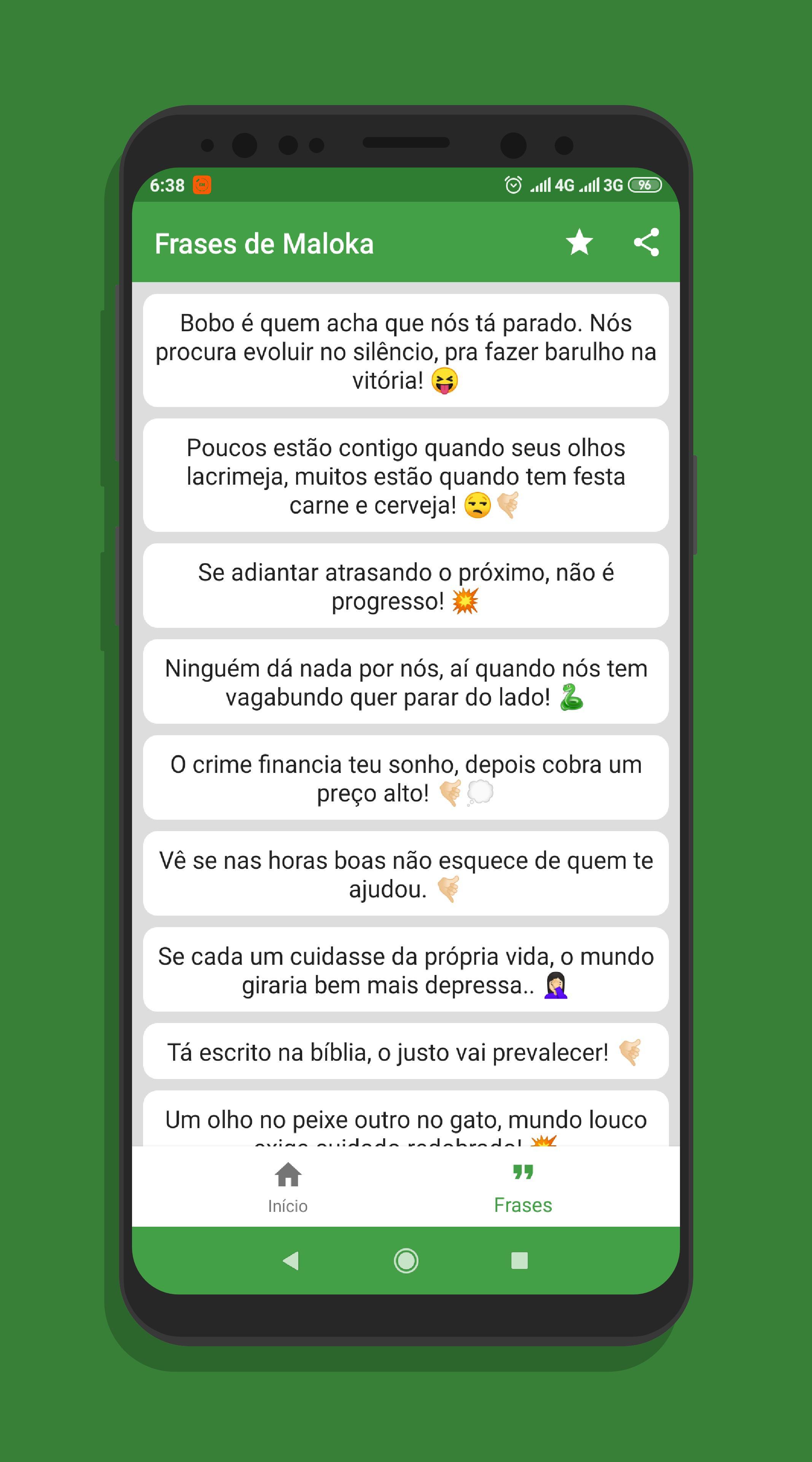 Frases De Favelado E Maloka Para Status For Android Apk