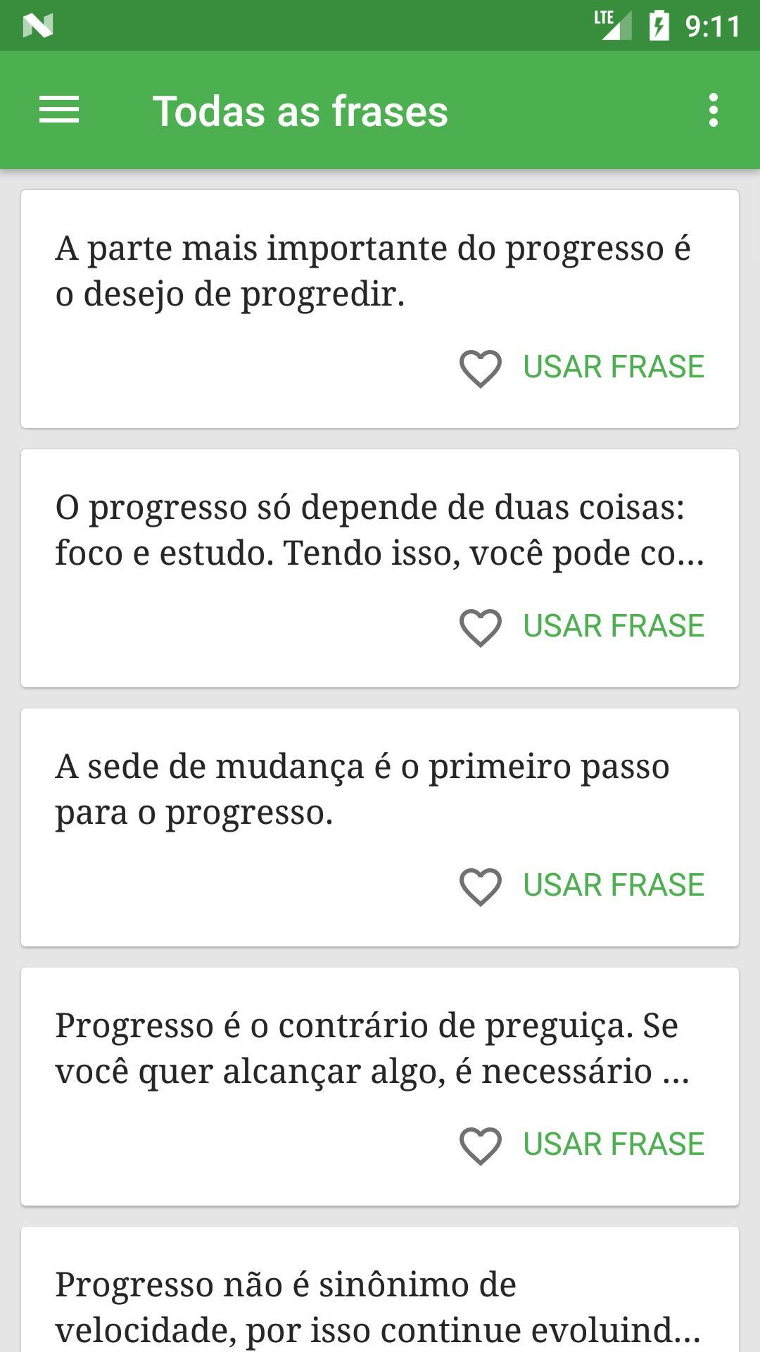 Frases De Progresso For Android Apk Download