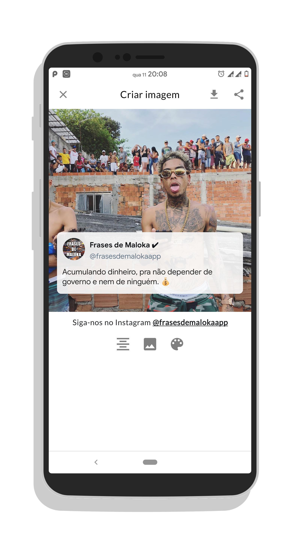 Criador De Frases De Maloka For Android Apk Download
