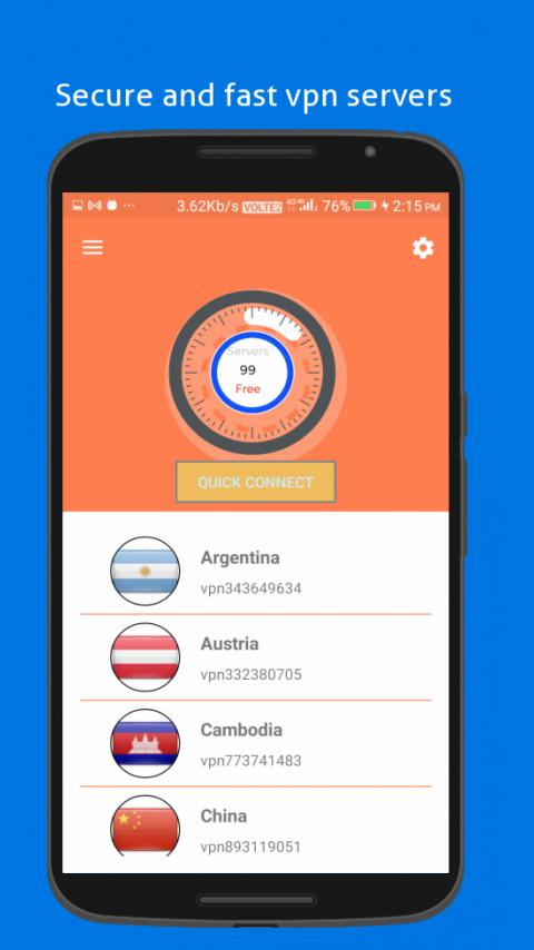 Turbo Vpn vip - safe Vpn Server & unblock any sits for Android - APK