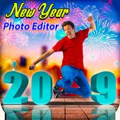 New Year Photo Editor 2019 icon