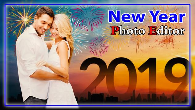 New Year Photo Editor 2019 poster