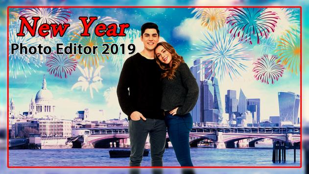 New Year Photo Editor 2019 screenshot 1