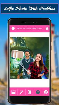 Selfiee Photo With Prabhas screenshot 1