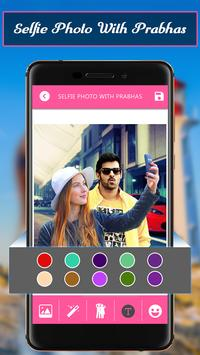 Selfiee Photo With Prabhas screenshot 3