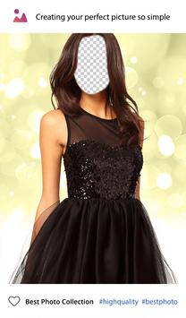 Black Dress Photo Editor screenshot 3
