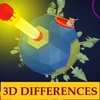 Find The Difference 3D - Interactive 3D Game アイコン