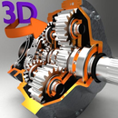 3D Engineering Animations + أيقونة