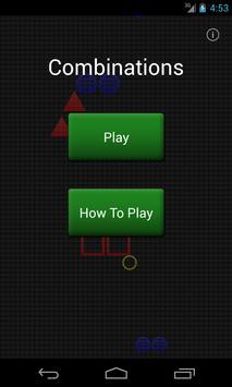 Combinations screenshot 1