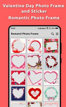 Romantic Video Status Photo Frame 2019 And Sticker screenshot 1