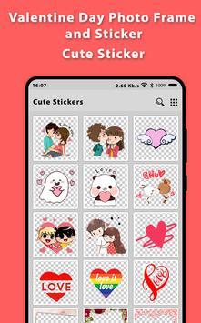Romantic Video Status Photo Frame 2019 And Sticker screenshot 2