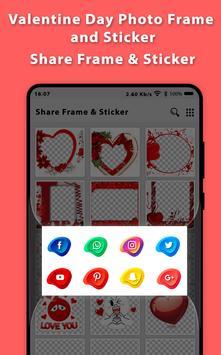 Romantic Video Status Photo Frame 2019 And Sticker screenshot 4