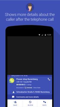 3 Schermata Clever Dialer - caller ID - block calls