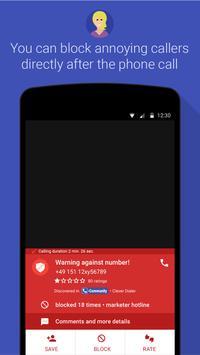 1 Schermata Clever Dialer - caller ID - block calls