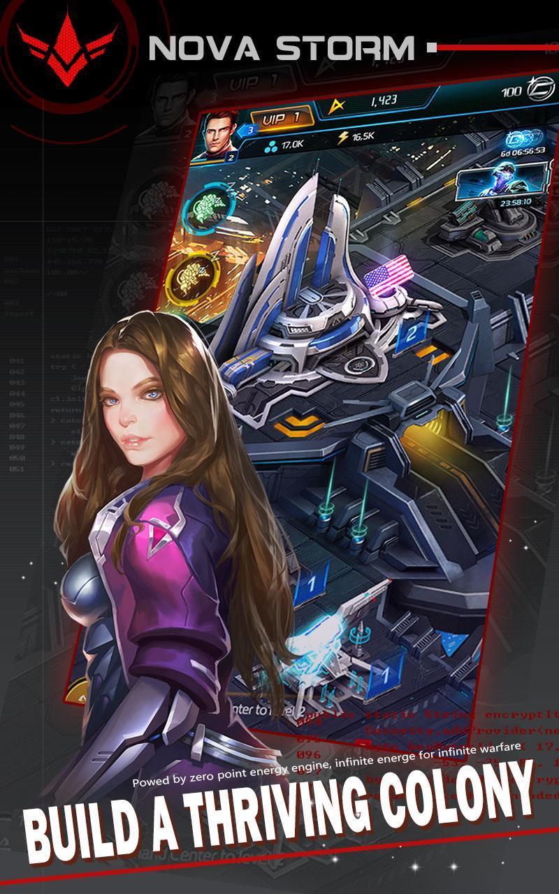 Nova Storm: Stellar Empire[Sci-Fi Space Strategy]