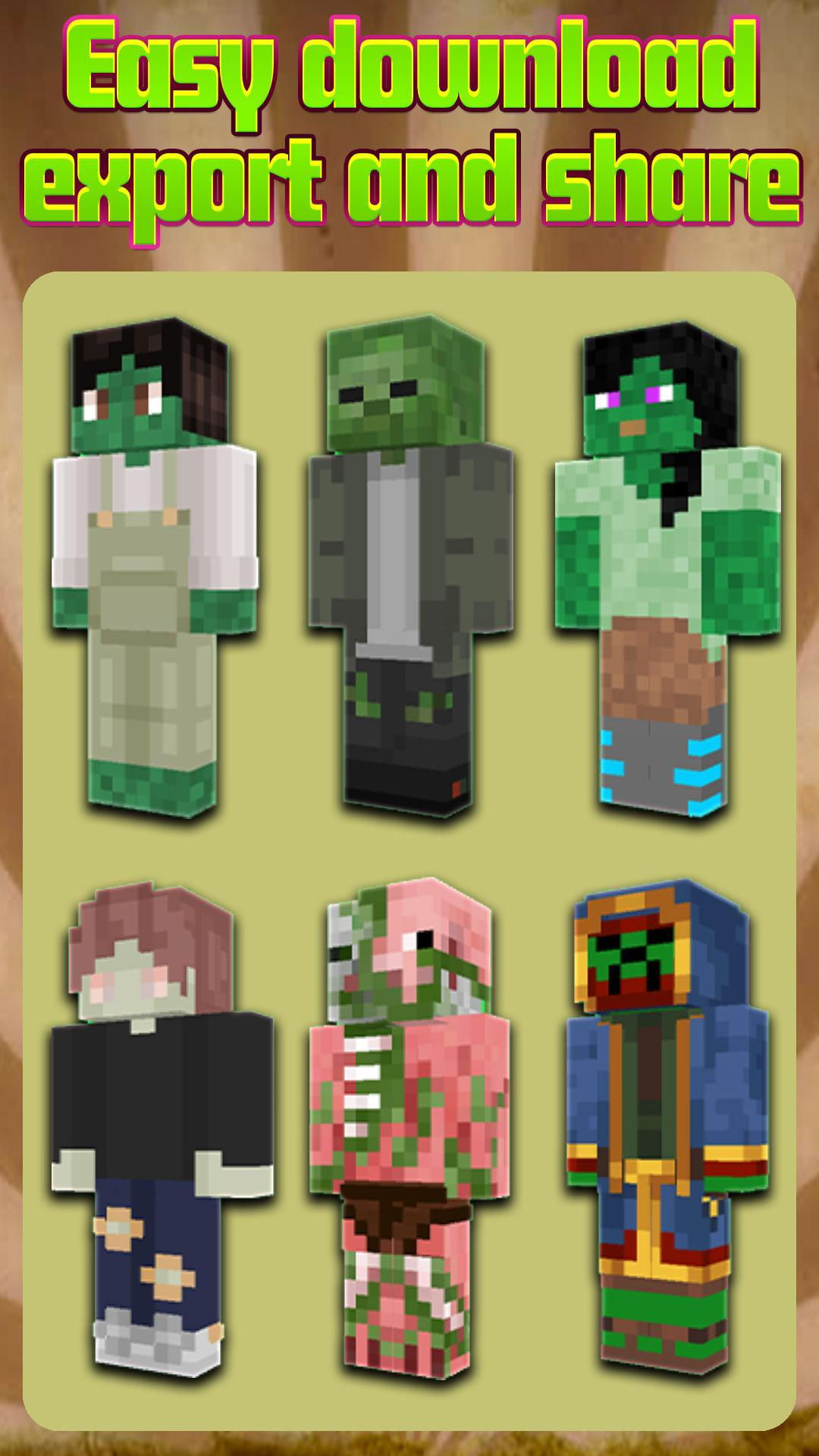 Zombie Skins for Minecraft PE for Android - APK Download