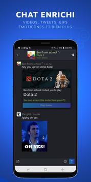 Steam Chat capture d'écran 1