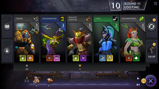 Dota Underlords screenshot 1