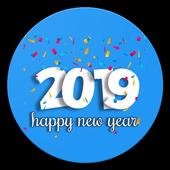 WAStickerApps : New Year Wish Sticker 2019 icon