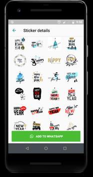 WAStickerApps : New Year Wish Sticker 2019 screenshot 4
