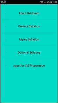 UPSC/IAS Syllabus poster