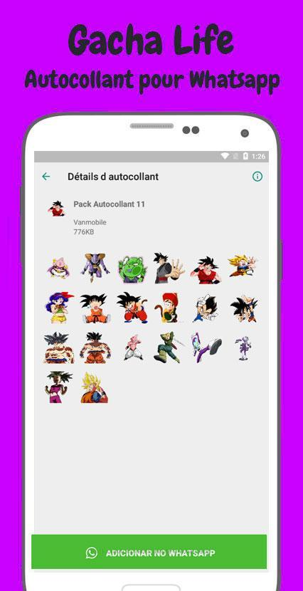 Gacha Life Wastickerapps For Android Apk Download