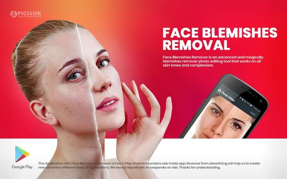 Face Blemishes Cleaner & Photo Scars Remover скриншот 6