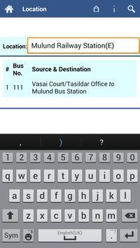 Vasai Virar Bus Info screenshot 3