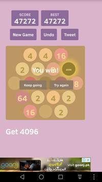 4096 Hexa Go! poster