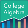 College Algebra: Practice Tests and Flashcards أيقونة