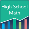 High School Math: Practice Tests and Flashcards ícone