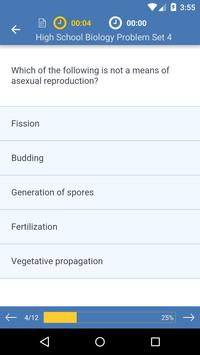 High School Biology: Practice Tests and Flashcards screenshot 2