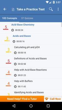 High School Chemistry: Practice Tests & Flashcards syot layar 1